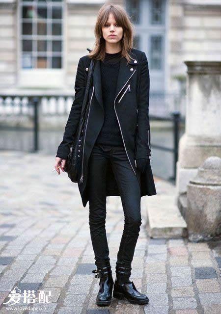 All-Black穿搭之裤子